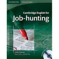 【预订】Cambridge English for Job-Hunting [With 2 CDs]