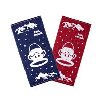 PBW1773024大嘴猴(Paul Frank) 儿童纯棉毛巾35x75cm 2条/袋