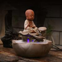 陶瓷流水摆件创意礼物 开业礼品