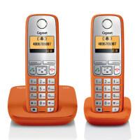 【当当热卖】集怡嘉(Gigaset)原西门子C510套装数字无绳来电显示电话机 通讯录储存150条