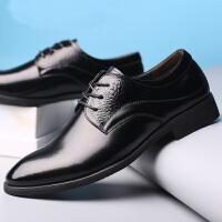 2017春季新款春秋款男士尖头系带商务皮鞋舒适男鞋单鞋婚鞋子英伦风工作OL上班鞋子9901BBS支持