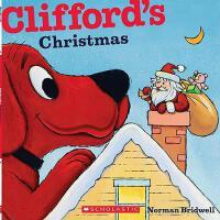 英文原版Clifford's Christmas [平装] [2011] Bridwell, Norman大红狗的圣诞