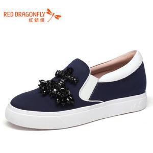红蜻蜓女鞋秋冬休闲鞋板鞋女鞋子WCB732