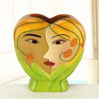 结婚礼物陶瓷爱情情侣摆件简约现代装饰品朋友同学闺蜜 结婚礼物