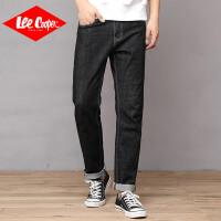 Lee Cooper弹力直筒宽松休闲百搭潮流长裤青年男士牛仔裤