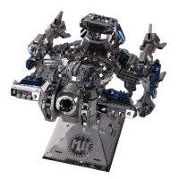 3D立体拼图金属模型拼装玩具手工diy益智