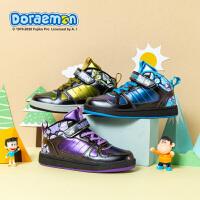 哆啦A�裟型�炫酷鞋加�q�n版潮流�\�又写笸��和�中梆加�q板鞋DL4804905
