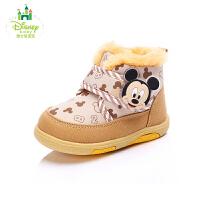 【99元2双】Disney/迪士尼童鞋秋冬季男女童学步鞋 幼童运动鞋宝宝鞋 (0-4岁可选) DH0042