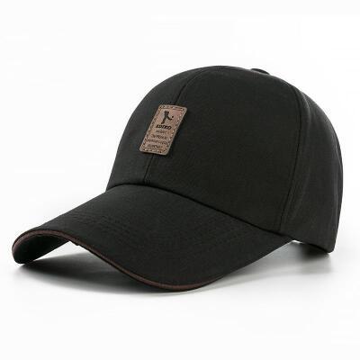 帽子女夏潮百搭韩版鸭舌帽简单棒球帽男黑色夏天时尚太阳帽