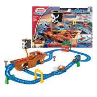 托马斯电动小火车之迷失宝藏航海轨道套装早教儿童玩具儿童节礼物 迷失宝藏航海轨道套装 标配版