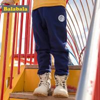 巴拉巴拉男童长裤童装儿童秋冬2017新款休闲裤小童宝宝加绒裤子男
