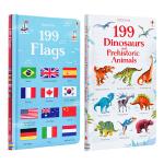 【中商原版】Usborne 199 Pictures系列2册套装 英文原版 纸板书 儿童认知识物 2-9岁 儿童百科