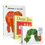 英文原版 Dear Zoo亲爱的动物园The Very Hungry Caterpillar 好饥饿的毛毛虫Brown