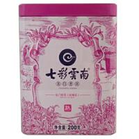 [当当自营]七彩云南 名门普洱(玫瑰花)熟散茶200g