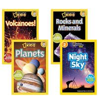 【全店300减100】英文原版 National Geographic KIDS Readers Level 2 儿童科