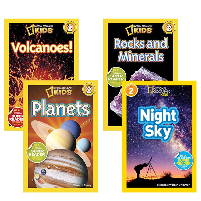 英文原版 National Geographic KIDS Readers Level 2 儿童科普分级阅读 2级6本自然现象3-5-6-8岁学习 美国国家地理杂志 百科图书