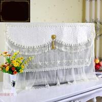 电视机罩液晶挂式蕾丝防尘电视套子32 42 47 50 55寸盖布欧式 金盏花