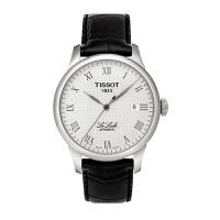 天梭(TISSOT)手表 力洛克系列机械蓝宝石玻璃男士带日历表 T41.1.483.53
