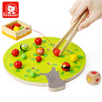 儿童早教智力玩具果树夹夹乐亲子互动桌游1-3-5岁智力玩具