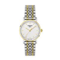新品 天梭(TISSOT)手表 魅时系列石英表女表钢带腕表 钢带T109.210.11.031.00