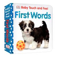 【中商原版】DK触摸启蒙 启蒙单词 Baby Touch and Feel 儿童英语启蒙触摸纸板书 撕不烂 边学边玩 英