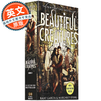 美丽生灵 英文原版 Beautiful Creatures 进口小说 电影封面版 国外青少年读物 好莱坞电影原著 浪漫