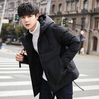 男士外套2018冬季新款韩版潮流冬天服加厚短款冬装