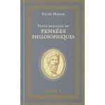 【中商原版】【法国法文版】哲学思想小集 法文原版 Petit recueil de pensées philosoph