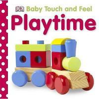 英文原版 DK宝宝触摸书:游戏时间 Playtime (Baby Touch and Feel)