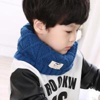 韩国宝宝秋冬季保暖儿童毛线围脖套头小孩男女童冬天脖圈围巾针织