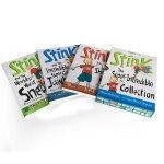 【顺丰包邮】英文原版绘本 Stink The Super-Incredible Collection1-3 3册盒装桥