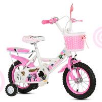 新款宝宝小孩3/6/8岁小孩公主车儿童自行车12寸14寸16寸18公主单车的女款脚踏童车