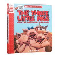 英文原版The Three Little Pigs and the Somewhat Bad Wolf 三只小猪 角色