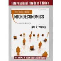 Intermediate Microeconomics 中级微观经济学 【英文原版 经济金融 HalR Varian】