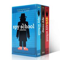 英文原版 The Spy School Collection 间谍学校3册盒装 儿童桥梁章节书 进口原版小说课外阅读英