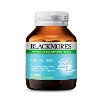 Blackmores 深海鱼油软胶囊60粒澳佳宝欧米伽3中老年澳洲保健品