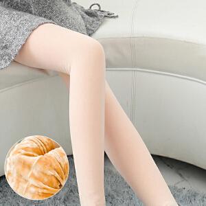 【光腿隐形神器】加绒加厚秋冬季连丝袜外穿肉色打底裤2019新款女肤色