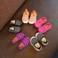 夏季宝宝单网鞋网面透气男女童学步鞋镂空婴儿凉鞋