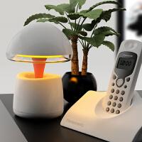 创意台灯 LED触控多功能懒人闹钟智能音箱家居读书灯实用生日礼物送男女友礼物