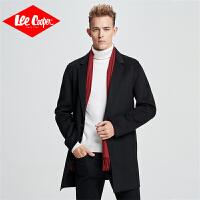 Lee Cooper【惠】防寒保暖舒适百搭男士毛呢大衣