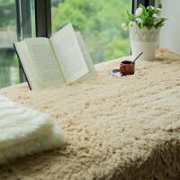 毛绒飘窗垫窗台垫田园欧式榻榻米坐垫子厚阳台垫防滑飘窗毯
