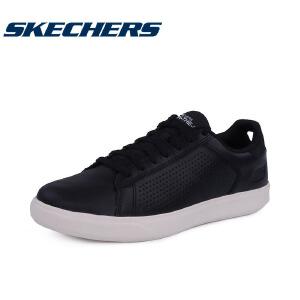Skechers/斯凯奇男鞋板鞋真皮系带质感舒适时尚 54323