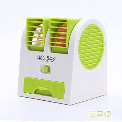 无叶小风扇 迷你可充电usb电风扇办公学生宿舍便携喷雾空调制冷小风扇创意小电扇  均码
