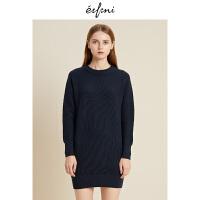 伊芙丽冬装新款韩版时尚女装连衣裙1188994701