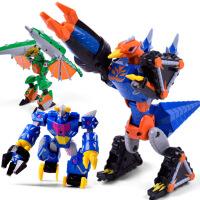 力辉玩具 斗龙战士儿童卡通动漫模型变型机器人玩具 男孩合体变形玩具