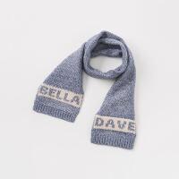 戴维贝拉秋冬儿童围巾 宝宝针织保暖围脖DBJ8303-2