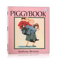 英文原版 Piggybook 朱家故事 童书启蒙绘本 吴敏兰推荐少儿童书 安东尼 布朗