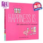 【中商原版】开心就是 闺蜜200种庆祝方式 英文原版 Happiness Is . . . 200 Celebrati