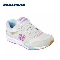 【限时抢】Skechers斯凯奇轻便舒适运动鞋女 复古防滑耐磨休闲百搭跑步鞋650