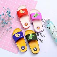 儿童夏季男童女童卡通拖鞋室内外防滑耐磨软底大中小童拖鞋一字拖
